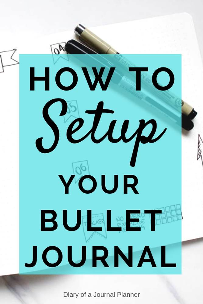 Your Step By Step Guide To The: Bullet Journal Setup: The Ultimate Step By Step Guide To