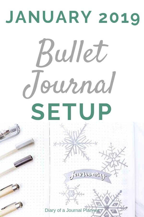 January bullet journal layout ideas and cover pages. Plan with me and check out my pages.