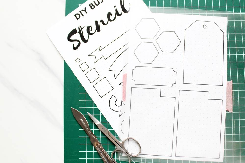 how to make stencils at home