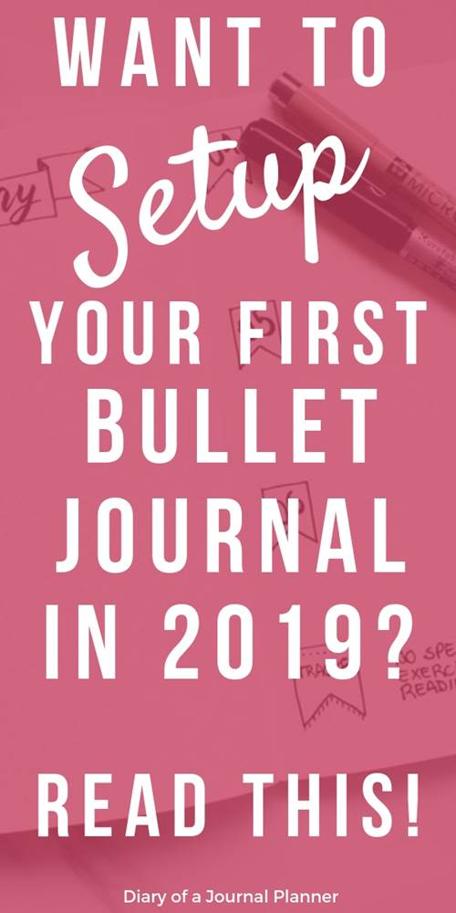 How to setup a journal in 2019