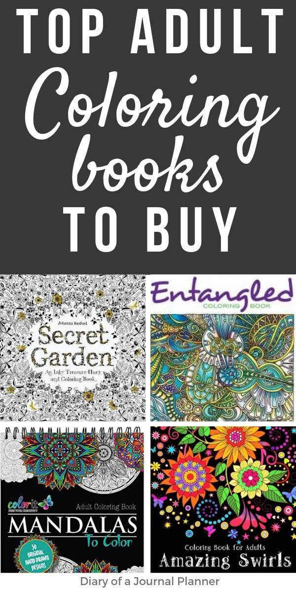 Top adult coloring books to buy