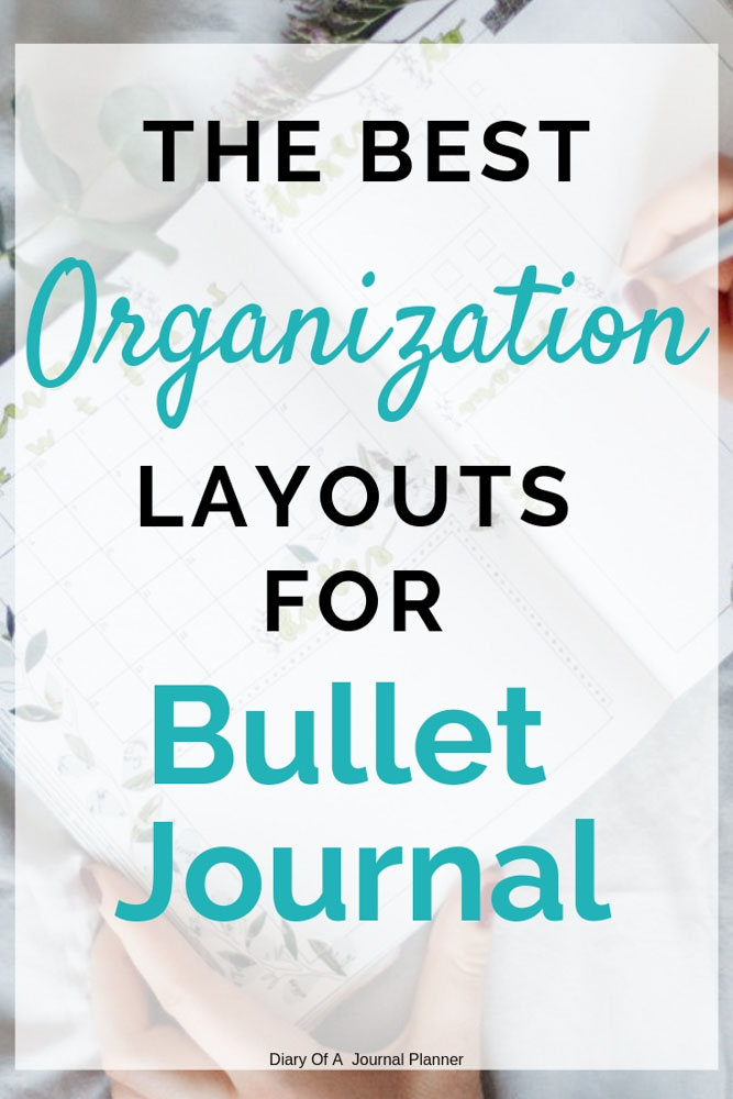 Organization layouts that will make getting organized easy. Organization tips, spreads and more.