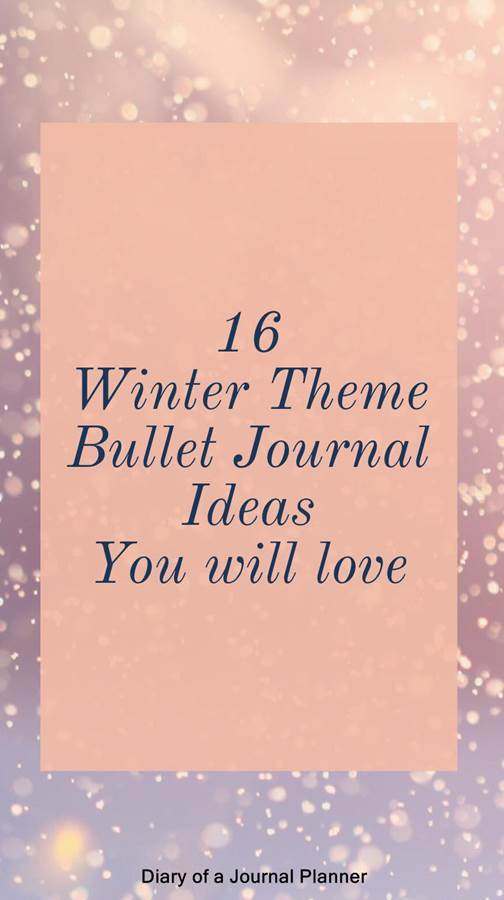 Winter bullet journal ideas to try. We have collected gorgeous winter bullet journal layout inspiration, winter bullet journal doodles and more. Create the perfect winter bullet journal theme.