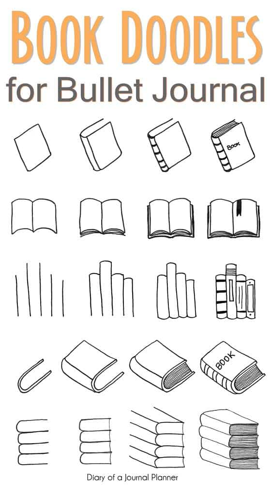 How to draw books step by step