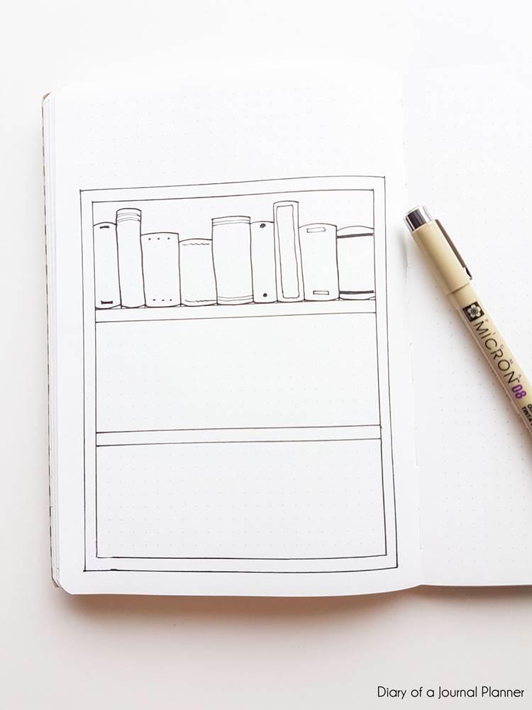 book club bullet journal