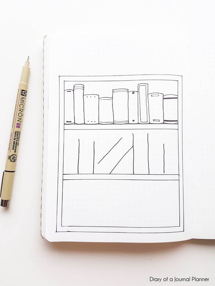 book reading journal tracker