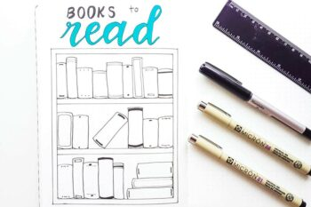 bullet journal books to read