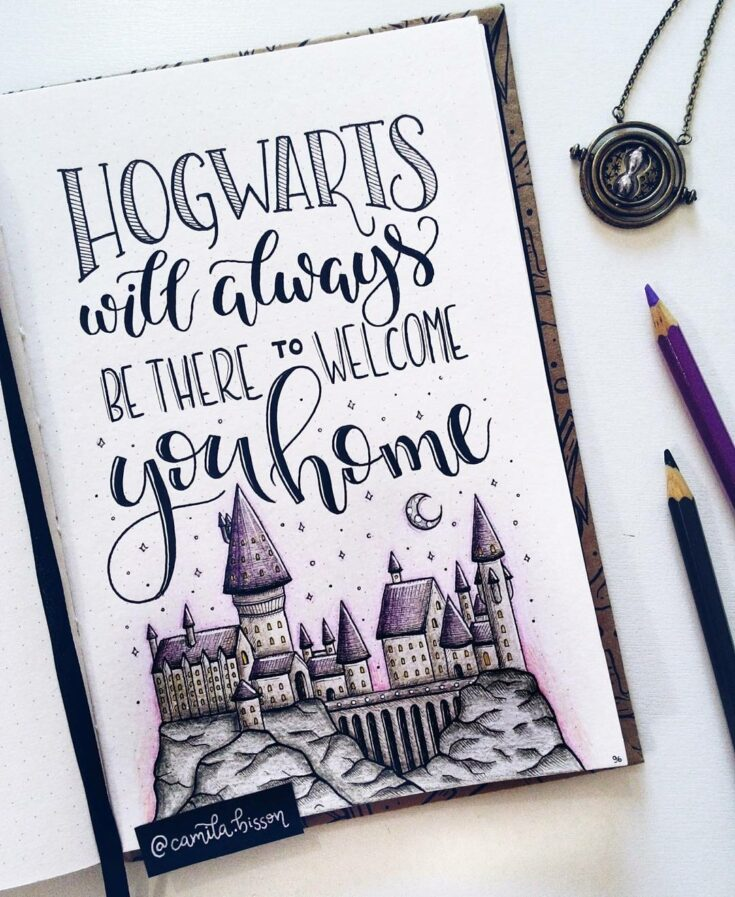 Happy Potter Quote Pages