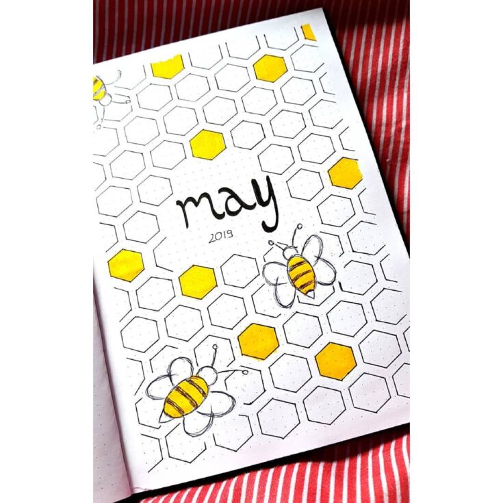 Bee Theme For Bujo