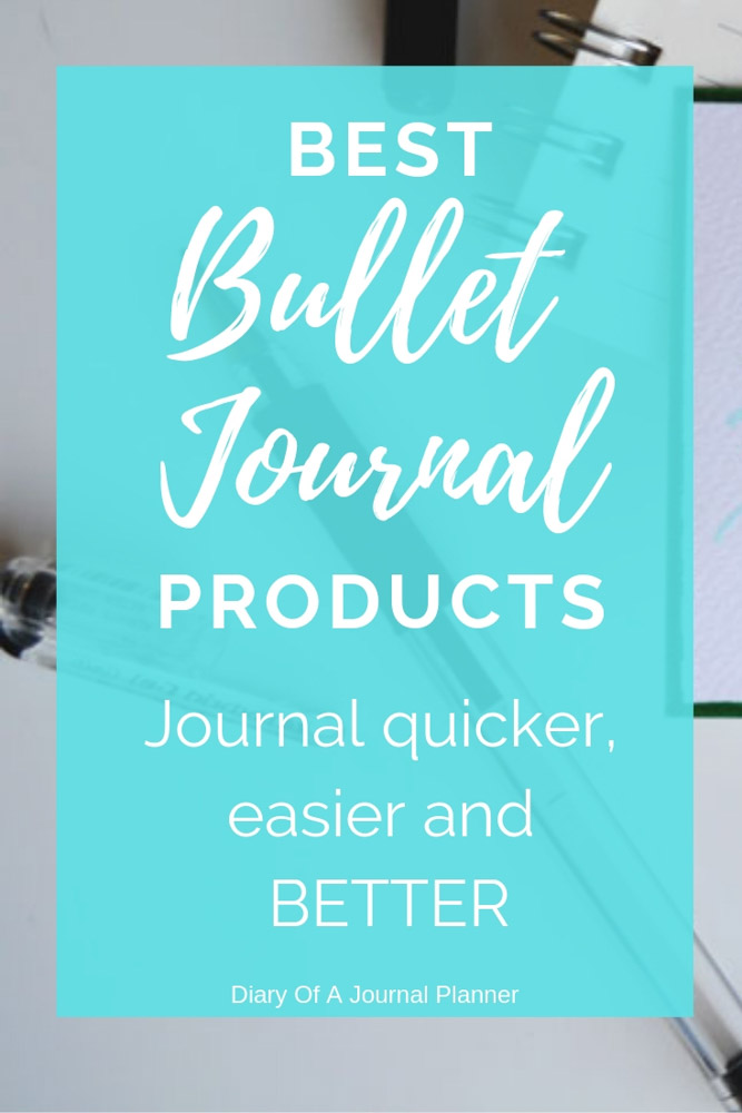 The ultimate list of Must-have Bullet Journal Porducts to help you journal BETTER!. Create amazing Bullet Journal spreads and layouts with these Bullet Journal tools. #bulletjournal #bulletjournalideas #bulletjournalsupplies #bulletjournalaccessories #bulletjournallayouts