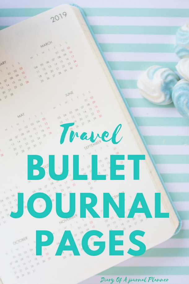Going on a Vacation? Find out how to use your Bullet Journal to get organized, research and make your trip easy and fun. #travelbulletjournal #travelbulletjournalideas #travelbulletjournallayout #travelbulletjournalpages #travelbulletjournaldoodles #bulletjournal #bujo #bulletjournalideas #bujoideas