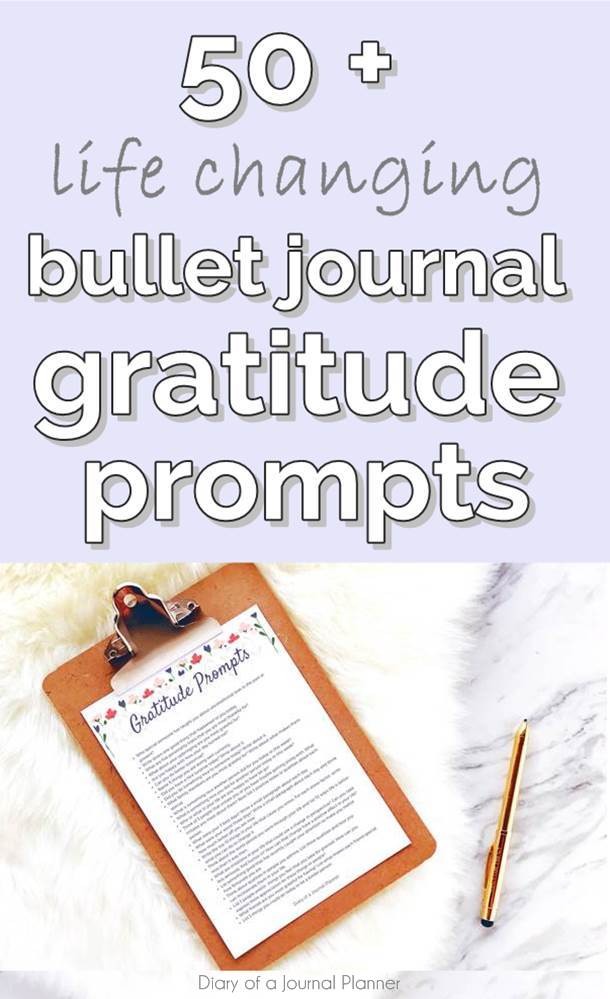 50 life changing Bullet journal gratitude daily prompts to help you uncover the good in your life and take notice of it #gratitude #grateful #journaling #journalprompts ##journalingprompts #journal #journalingbible #journalideas #journalingbible #artjournal #artjournaling #artjournaleveryday #journalpages #bulletjournal #bulletjournalideas #bulletjournalspread #bulletjournaling #bulletjournalinspiration #bujo #bujojunkies #bujolove #bujoinspire #bujocommunity #bulletjournaljunkies #bujoideas #bujoinspiration