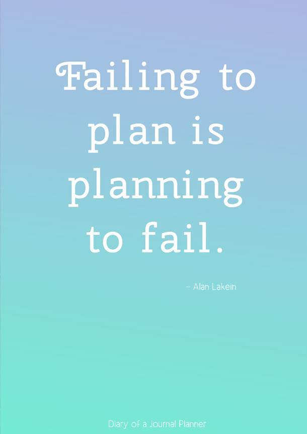failing to plan is planning to fail #quotes #quote #quoteoftheday #quotestoliveby #quotesinspirational #planningquotes #motivationalquotes #motivationalquotes #inspirationquotes #inspirationalquotes #planning #planners #bujo #bulletjournal