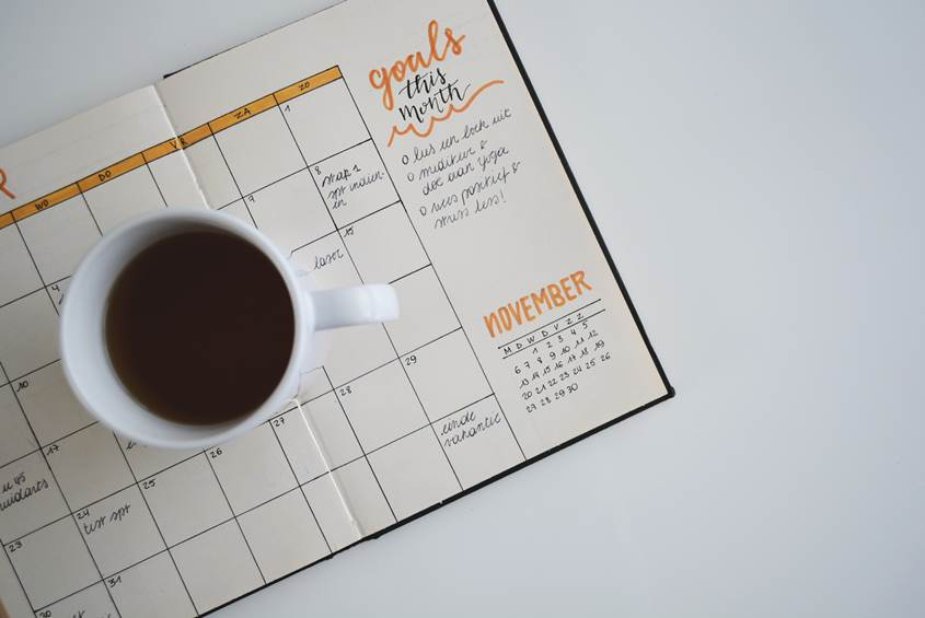 time management and bullet journal bloggers