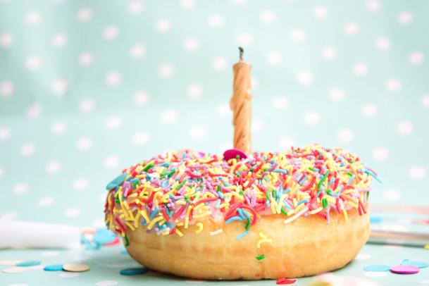 Birthday spread ideas for bujo