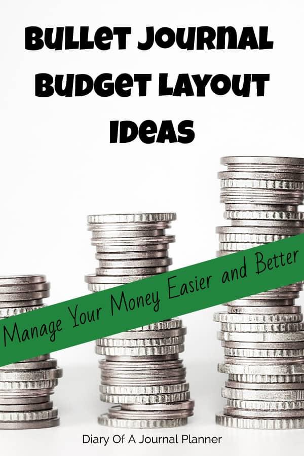 Bujo budget spread