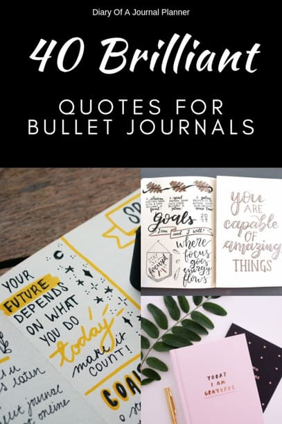 The best Bujo quotes
