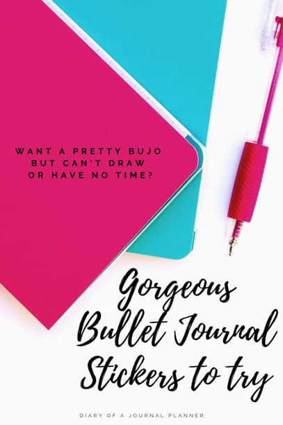 The best bullet journal stickers