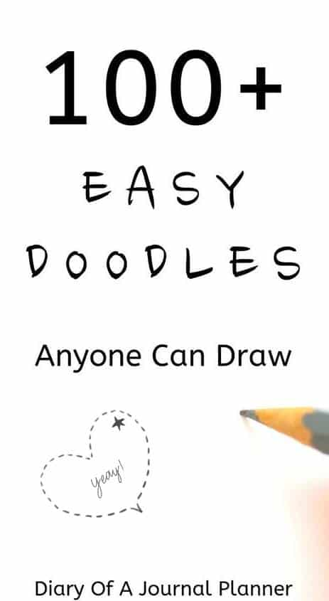 easy doodles for bullet journal