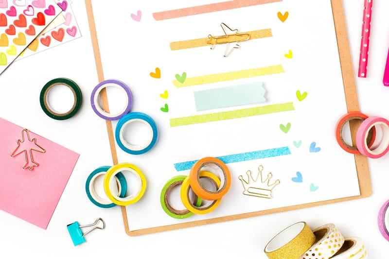 Clever Ways to Organize and Store Washi Tape
