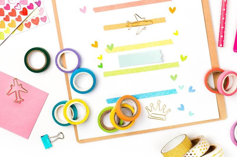 the best washi tape storage ideas