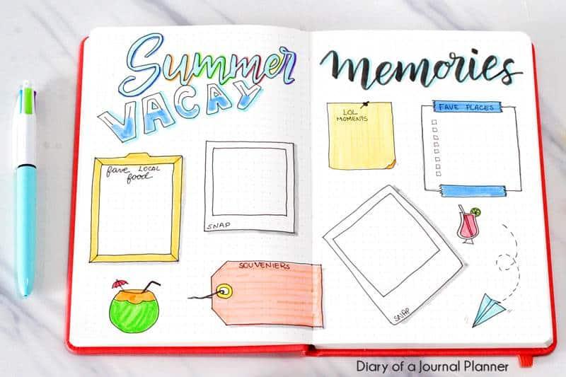 ideas travel journal
