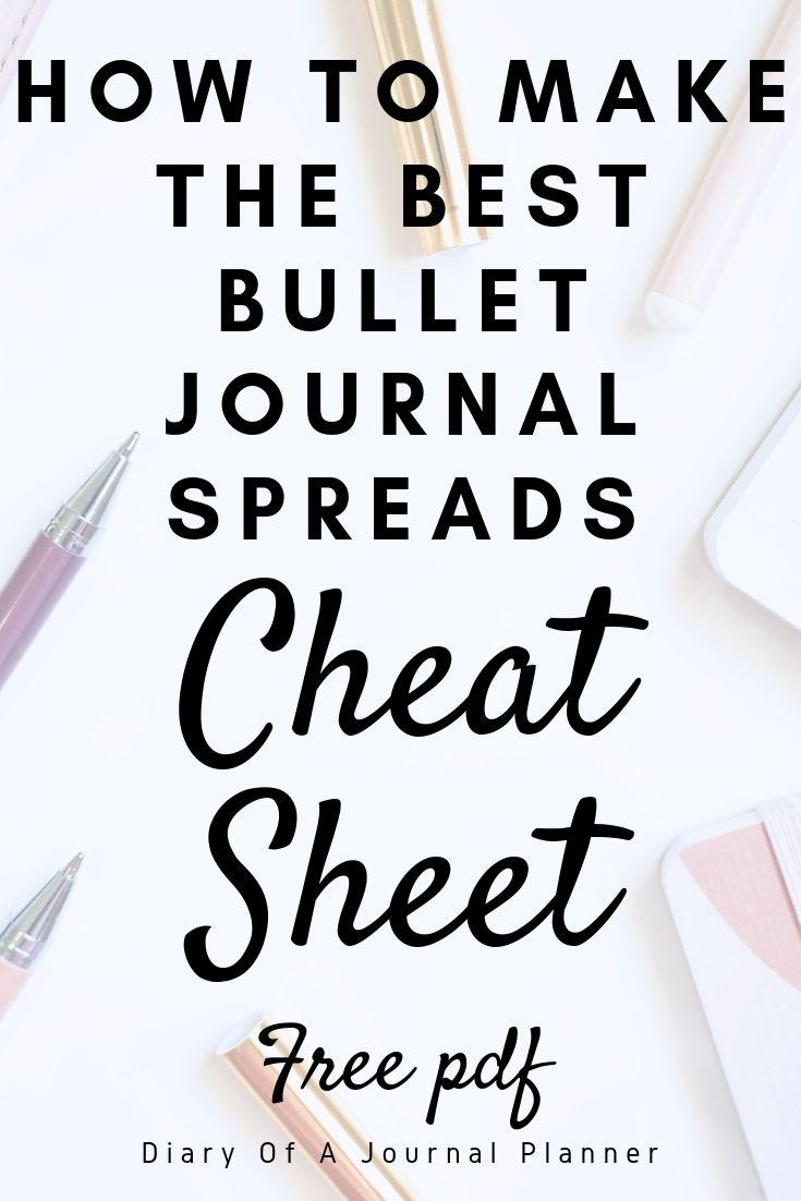 cheatsheet for bujo