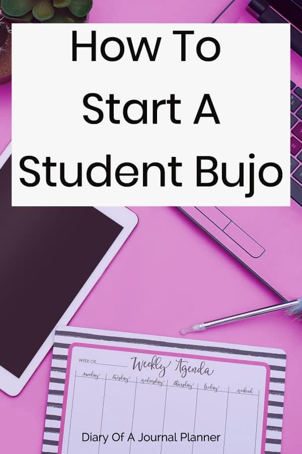 Student Bujo Ideas