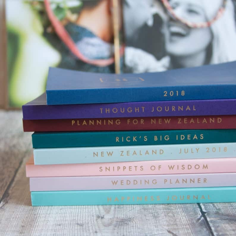 vustom bullet journal notebooks