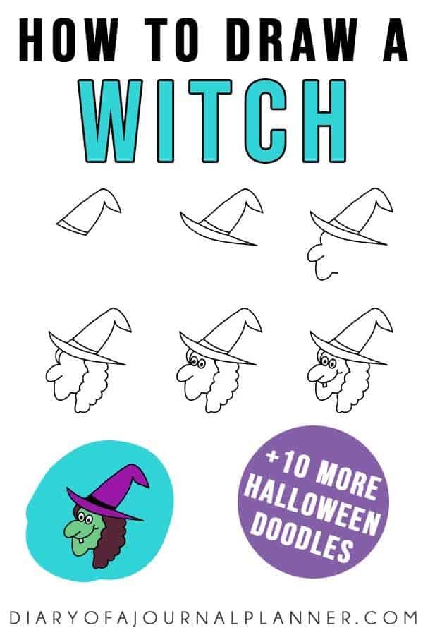 easy witch doodle