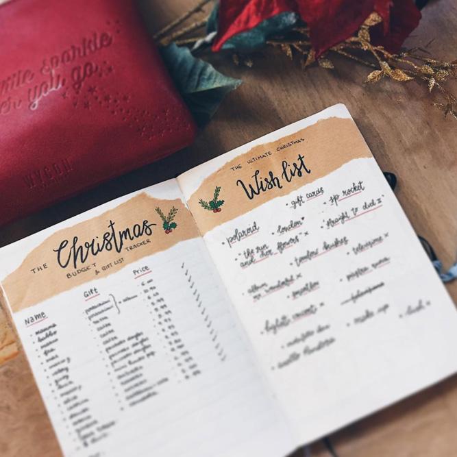 Budget Tracker Idea For Christmas