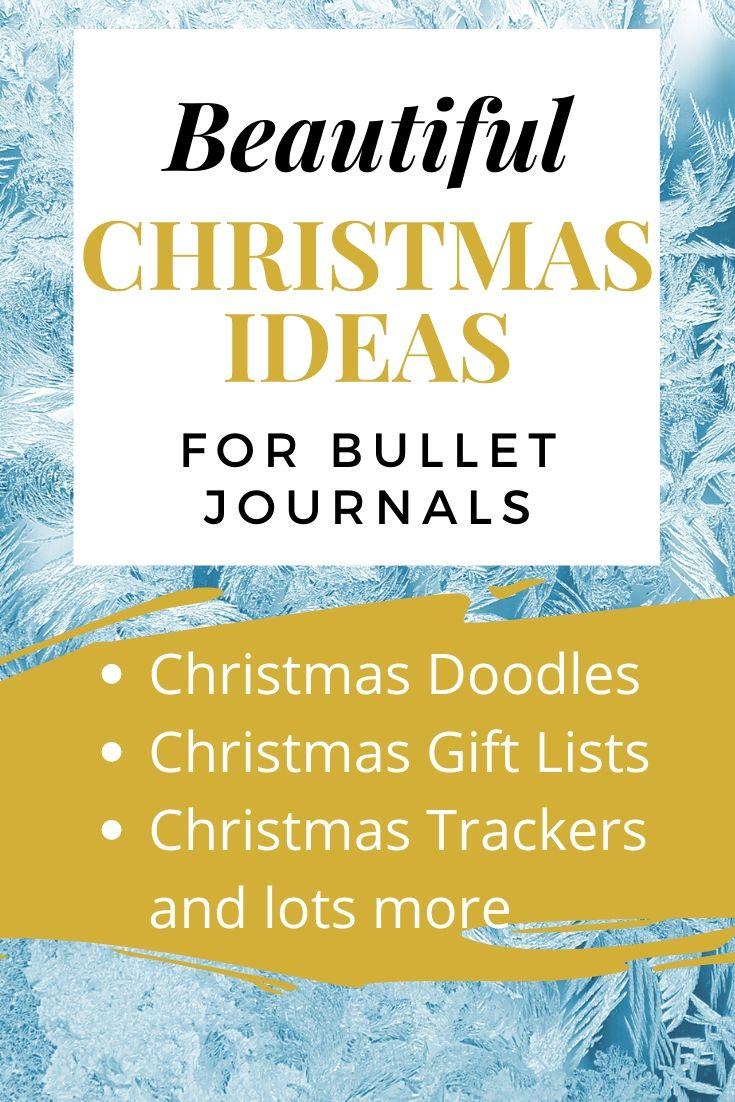 Christmas Ideas For Bullet Journal