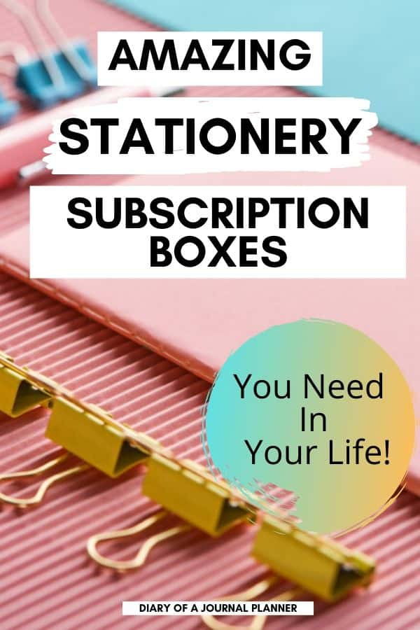 Monthly Stationery