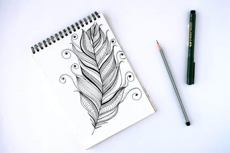 beginner doodle supplies