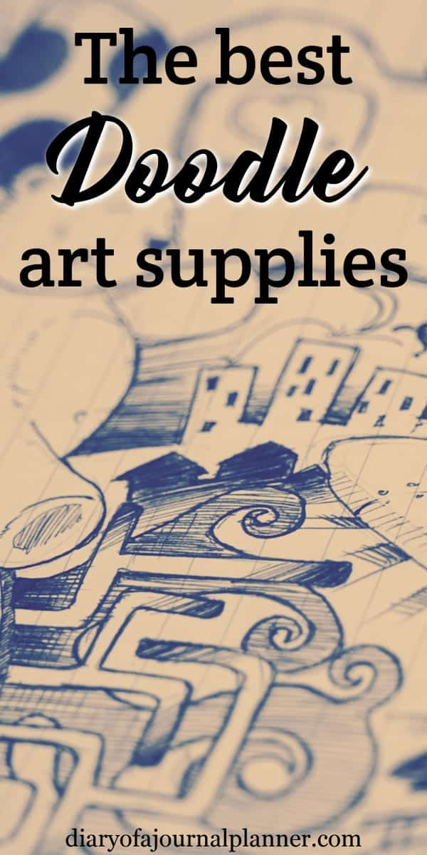 art supplies for doodle lovers