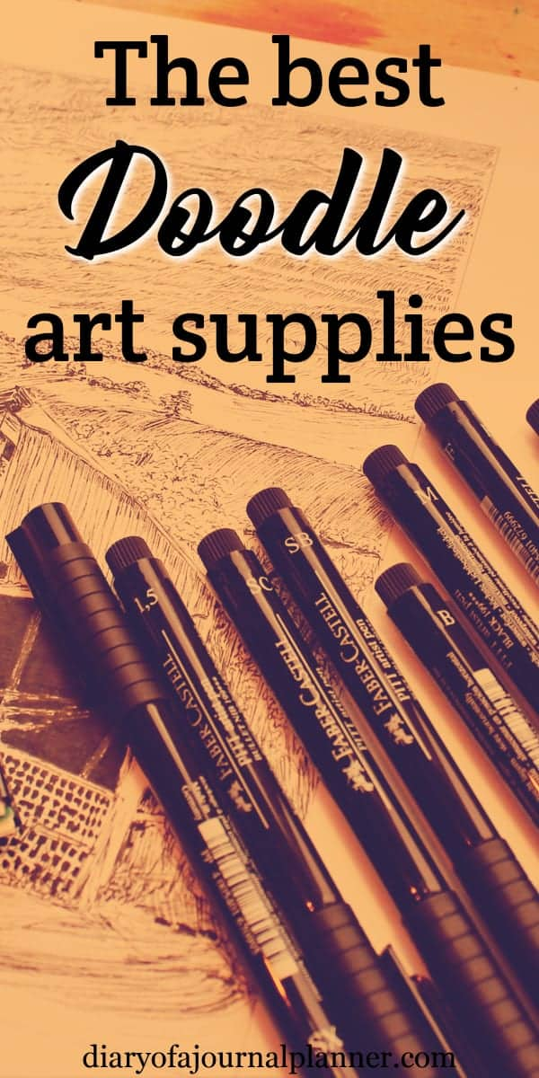 doodle tools and supplies