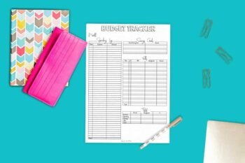Bullet Journal Budget and Expense Tracker