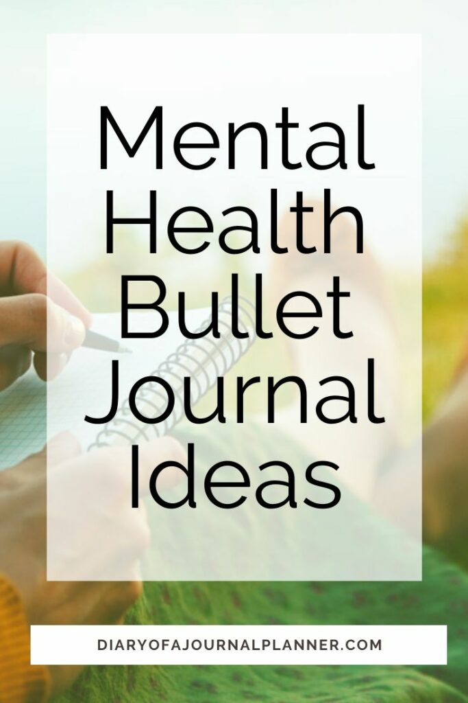 Bullet Journal Pages For Mental Health