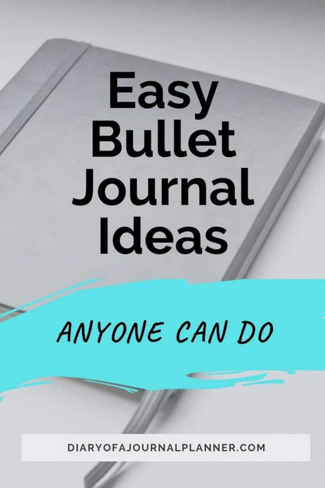 How To Create an Easy Bujo