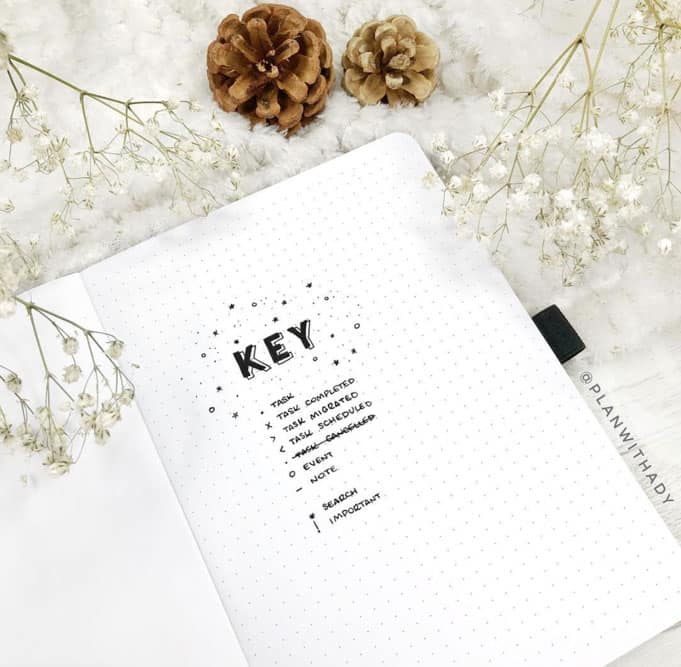 Simple Key For Bullet Journal