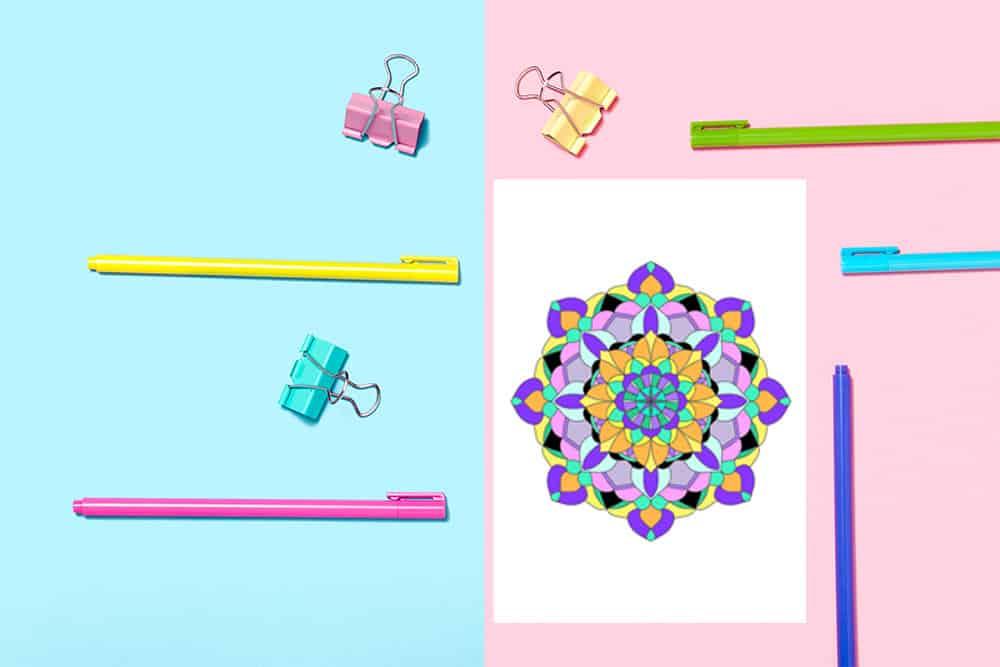Mandalas Color Pages