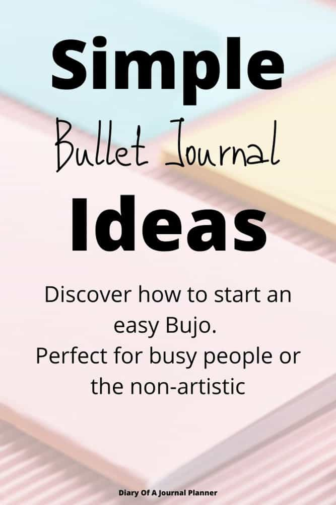 How To Start An easy Bujo