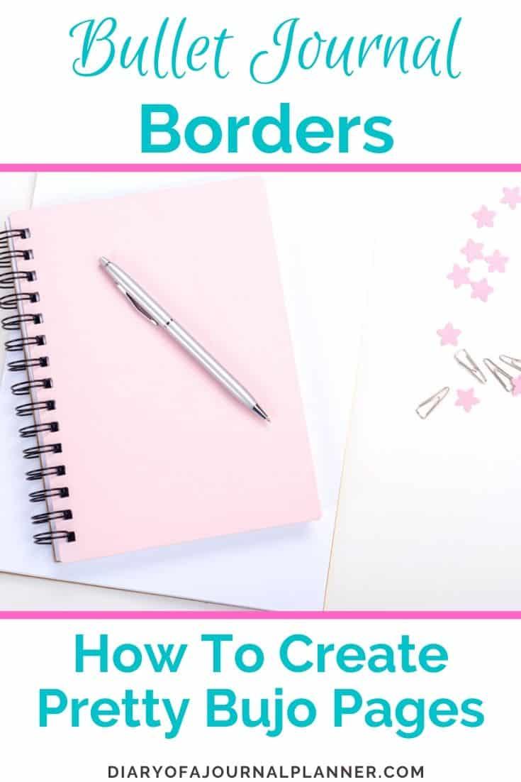 Bujo Border ideas