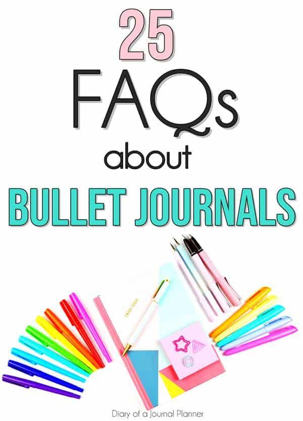 Bullet Journal Q&A