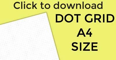dot grid journal paper
