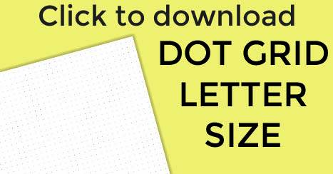 dotted paper printable