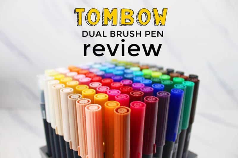Honest Tombow Dual Brush pen review