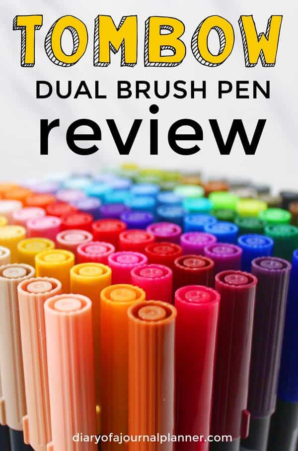 Tombow markers review