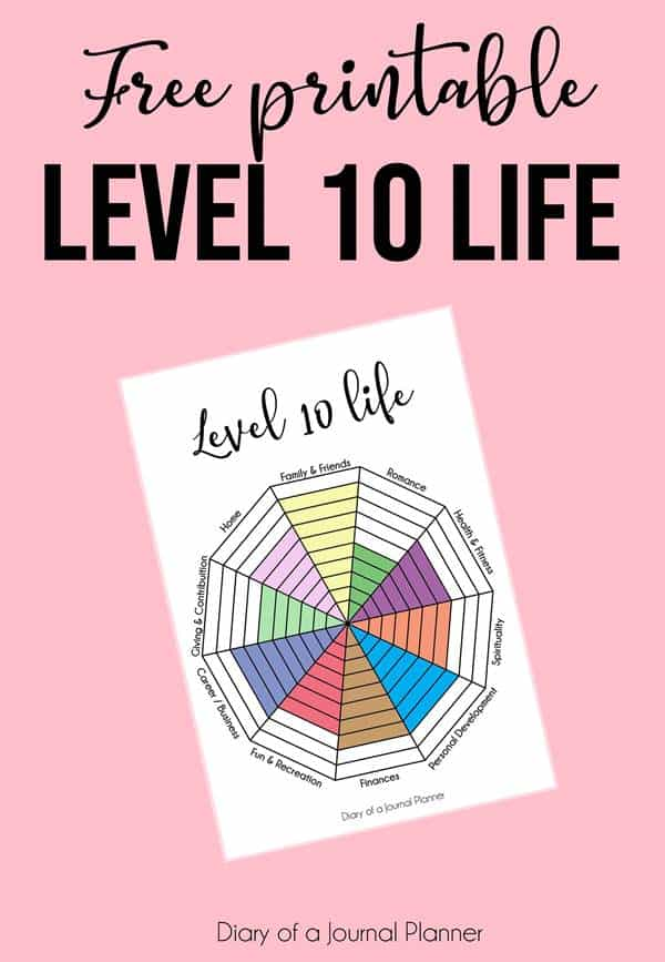 Printable Level 10 Life