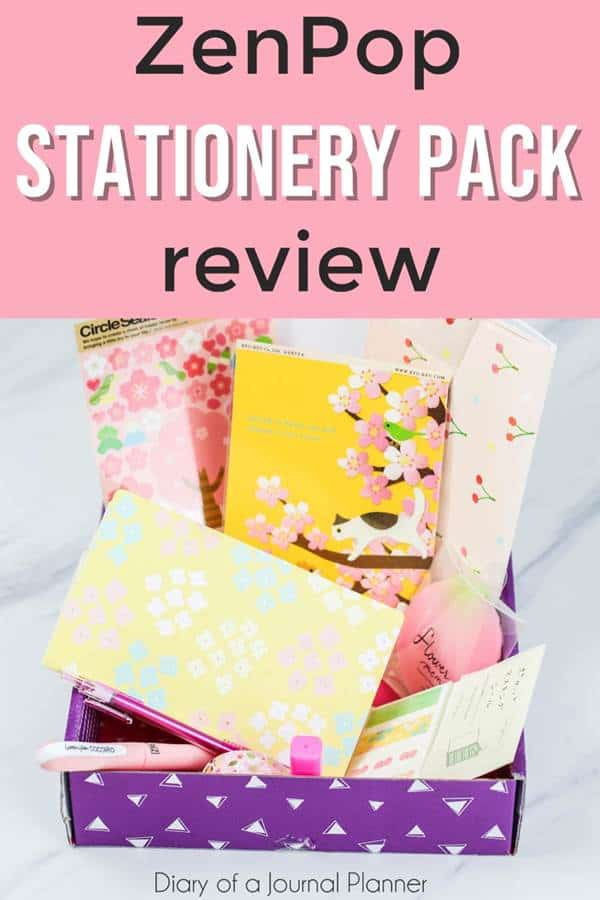 Review of ZenPop stationery pack